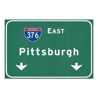 Pittsburgh Pennsylvania pa Interstate Highway : Photo Print