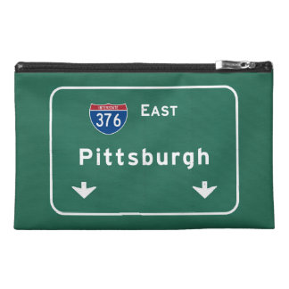 Pittsburgh Pennsylvania pa Interstate Highway : Travel Accessories Bag