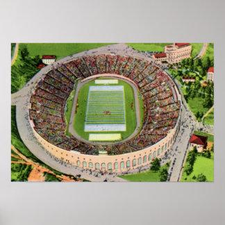 Pittsburgh Pennsylvania Pitt Stadium Poster