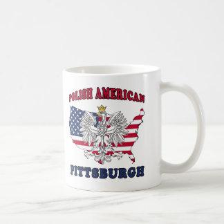 Pittsburgh Pennsylvania Polish Coffee Mugs