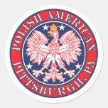 Pittsburgh Pennsylvania Polish Sticker
