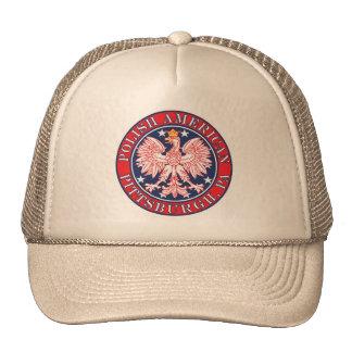 Pittsburgh Pennsylvania Polish Trucker Hat