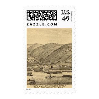 Pittsburgh, Pennsylvania Postage Stamp