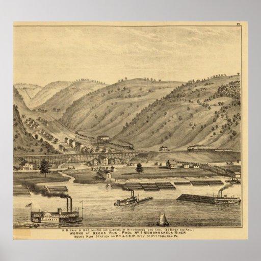 Pittsburgh, Pennsylvania Poster