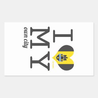 Pittsburgh | Pennsylvania Rectangular Sticker
