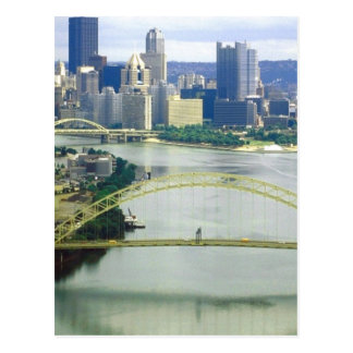 Pittsburgh Pennsylvania Rivers Postcard