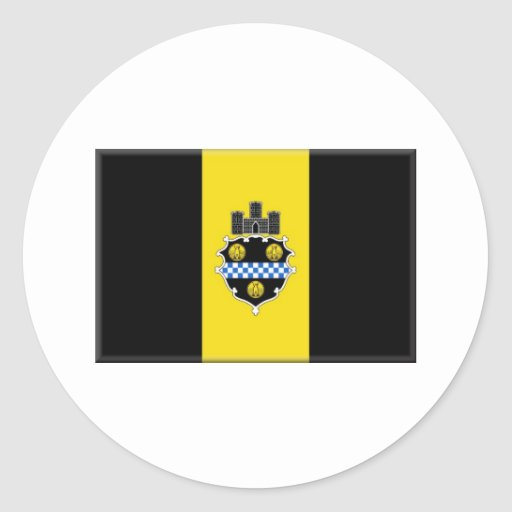 Pittsburgh Pennsylvania Round Stickers