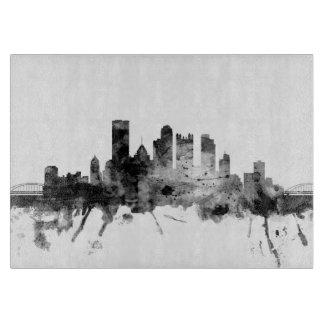 Pittsburgh Pennsylvania Skyline Cutting Board