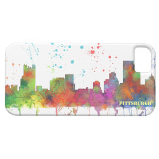 PITTSBURGH PENNSYLVANIA SKYLINE iPhone SE/5/5s CASE