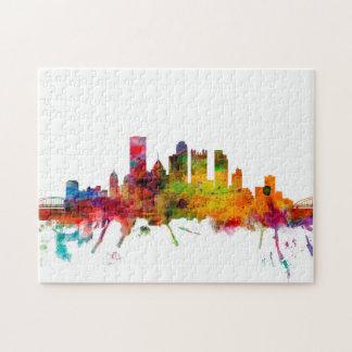 Pittsburgh Pennsylvania Skyline Jigsaw Puzzle
