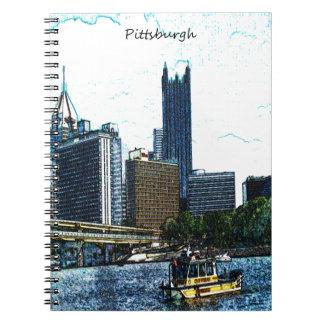 Pittsburgh Pennsylvania Skyline Notebook