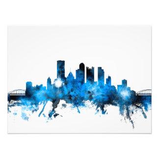 Pittsburgh Pennsylvania Skyline Photo Print