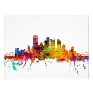 Pittsburgh Pennsylvania Skyline Photograph