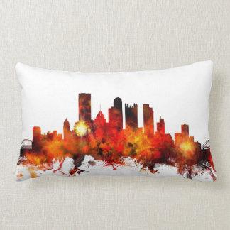 Pittsburgh Pennsylvania Skyline Pillow