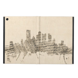 Pittsburgh Pennsylvania Skyline Sheet Music Citysc iPad Air Case