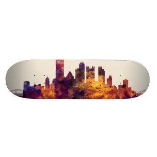 Pittsburgh Pennsylvania Skyline Skateboard Deck