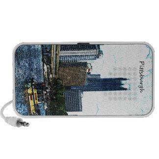 Pittsburgh Pennsylvania Skyline Speaker