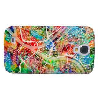 Pittsburgh Pennsylvania Street Map Galaxy S4 Cover
