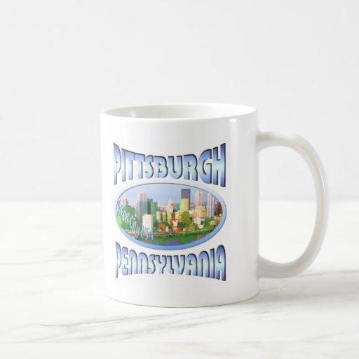 Pittsburgh Pennsylvania Taza Clásica