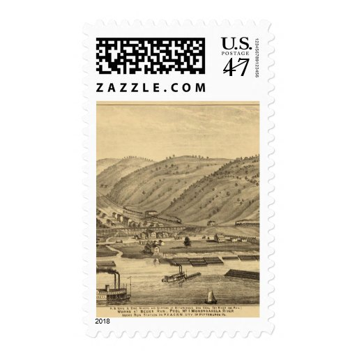 Pittsburgh, Pennsylvania Timbres Postales