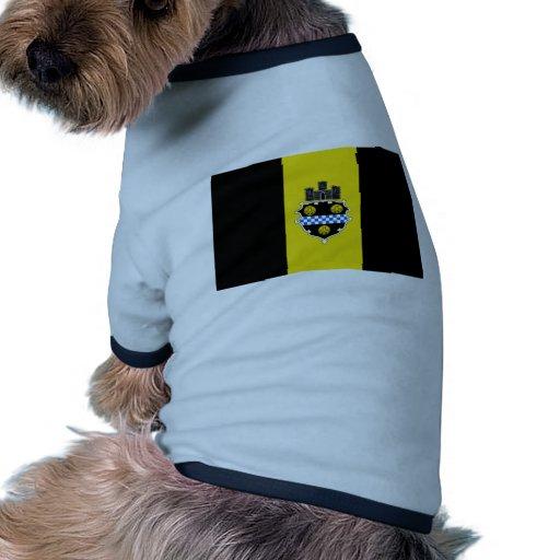 Pittsburgh, Pennsylvania, United States flag Dog Tee