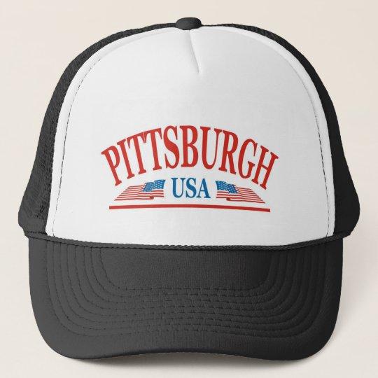 Pittsburgh Pennsylvania USA Trucker Hat