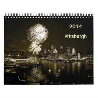 Pittsburgh PhotoPeg Calendar 2014