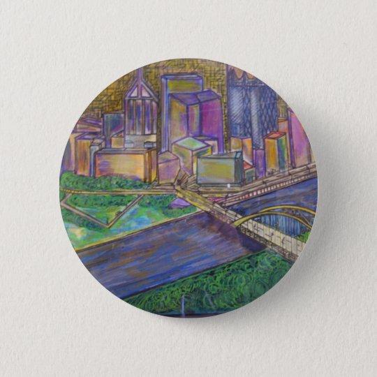 Pittsburgh Pinback Button