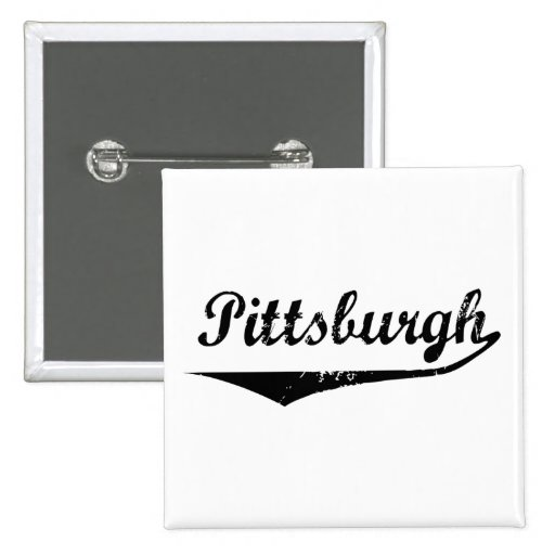 Pittsburgh Pinback Buttons