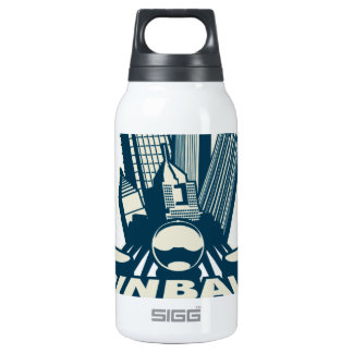 Pittsburgh Pinball League by Coinball.com Thermos Bottle
