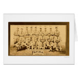 Pittsburgh Pirates Team 1913 Greeting Card