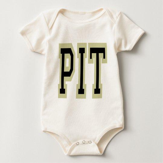 Pittsburgh PIT Design 3 Baby Bodysuit