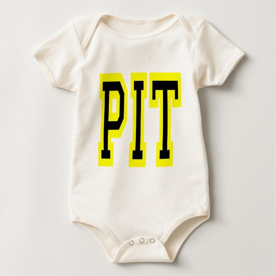 PIttsburgh PIT Design 6 Baby Bodysuit