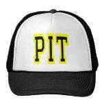 PIttsburgh PIT Design 6 Mesh Hat