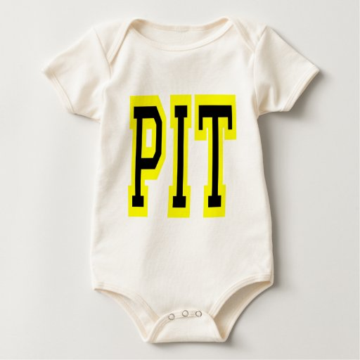 PIttsburgh PIT Design 6 Rompers