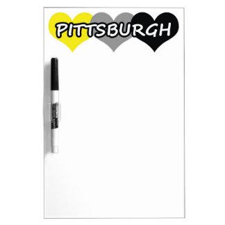 Pittsburgh Pizarra