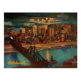 Pittsburgh por la postal del claro de luna