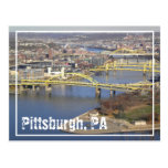 pittsburgh post card