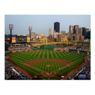 Pittsburgh Post Card PNC Park with Sky Line