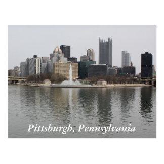 Pittsburgh, postal del PA