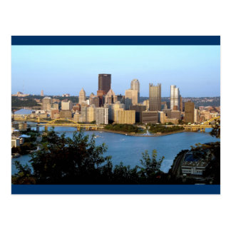 Pittsburgh Postcard - City Day View
