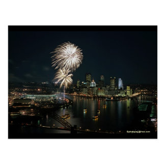 "Pittsburgh Postcard Light Up Night ""One of a Kind"""
