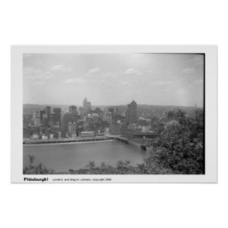 ¡Pittsburgh! Póster