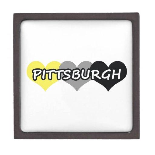 Pittsburgh Premium Trinket Boxes