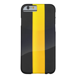 Pittsburgh Pride Black and Gold Helmet Design Barely There iPhone 6 Case