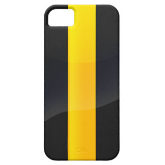Pittsburgh Pride Black and Gold Helmet Design iPhone 5 Cover