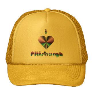 Pittsburgh -- Púrpura y turquesa Gorros
