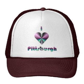 Pittsburgh -- Púrpura y turquesa Gorro