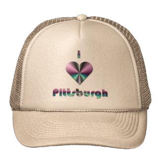 Pittsburgh -- Púrpura y turquesa Gorro De Camionero