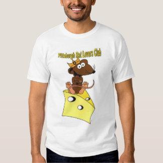Pittsburgh Rat Lovers Club Dark Brown Rat T Shirt